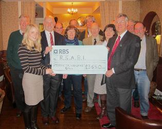 The Aberfeldy Highland Ball raised a fantastic £3650