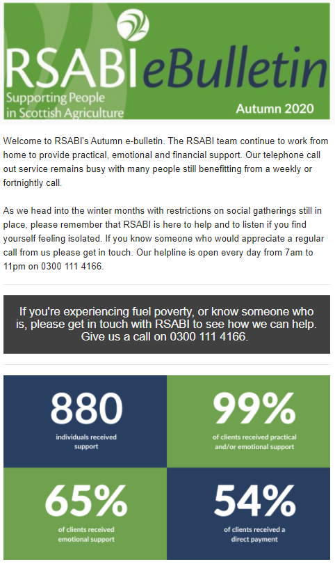 RSABI Autumn 2020 eBulletin
