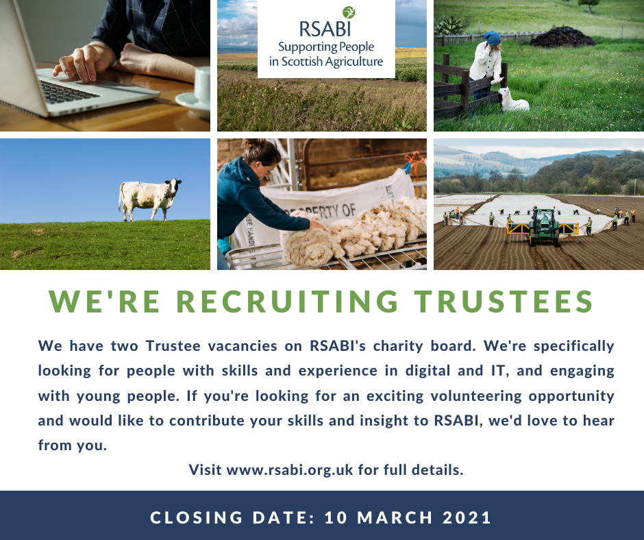 Trustee recruitment advert