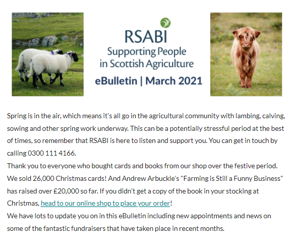RSABI eBulletin March 2021